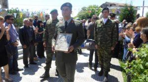 Στα Τρίκαλα τα λείψανα του Έφεδρου Ανθυπασπιστή Αθανάσιου Καραγεώργου
