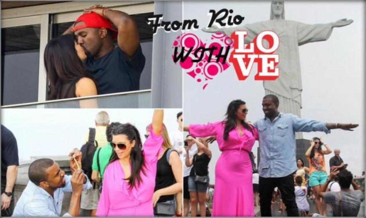 Kanye West – Kim Kardashian! Ερωτικό διήμερο στο Ρίο | Newsit.gr
