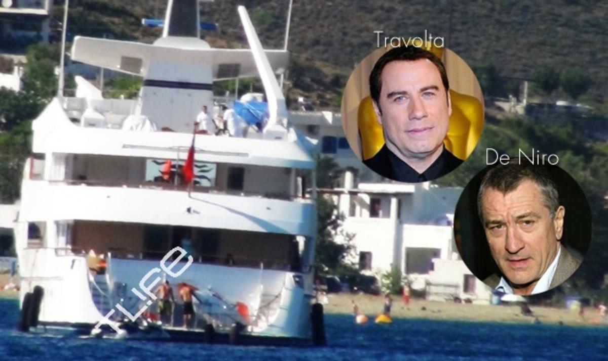 Το TLIFE εντόπισε τον Robert De Niro και τον John Travolta στη Σκύρο! Φωτογραφίες | Newsit.gr
