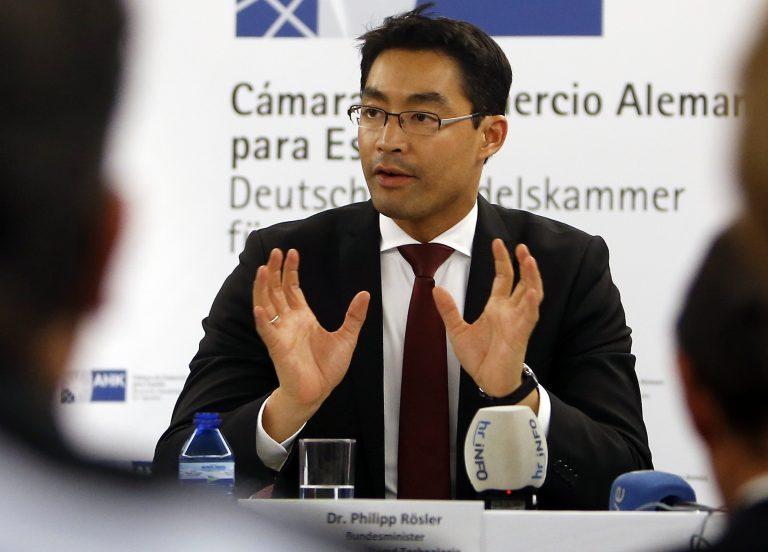 Ρέσλερ: Η Γερμανία δε θα εμποδίσει τη διάσωση της Ισπανίας   Newsit.gr
