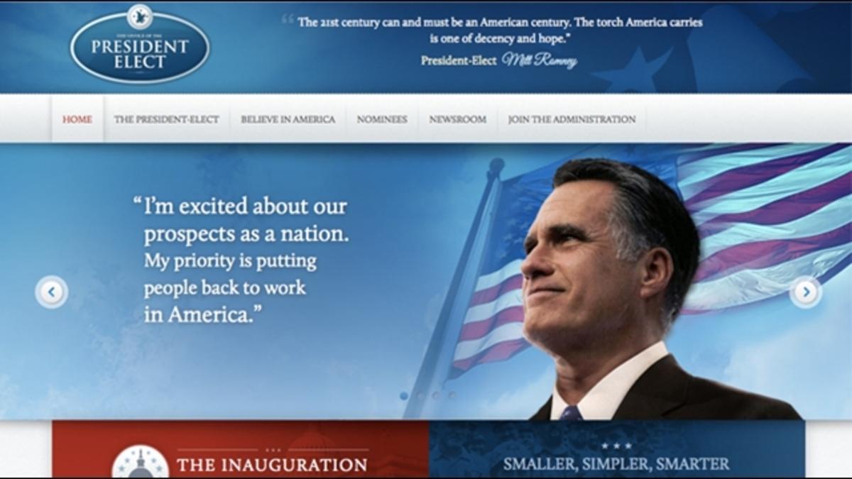Τα μάθατε; Ο Ρόμνεϊ βγήκε πρόεδρος των ΗΠΑ!   Newsit.gr