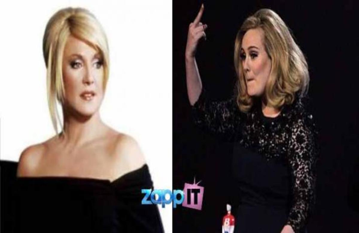 Πώς σχολίασε η Ρούλα Κορομηλά την άσεμνη χειρονομία της Adele; | Newsit.gr