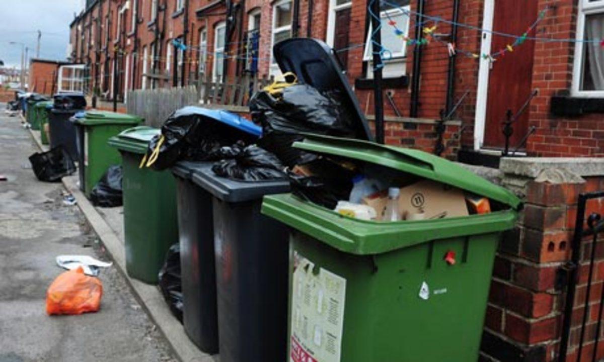 Λουκέτα στους κάδους για να μην ψάχνουν φαγητό στα σκουπίδια | Newsit.gr