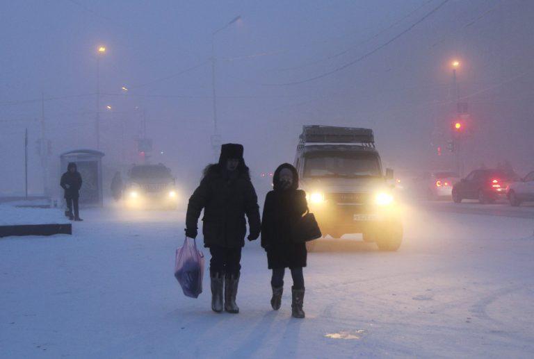 Ρωσία: Επτά νεκροί χθες από το ψύχος – 1.200 με κρυοπαγήματα | Newsit.gr