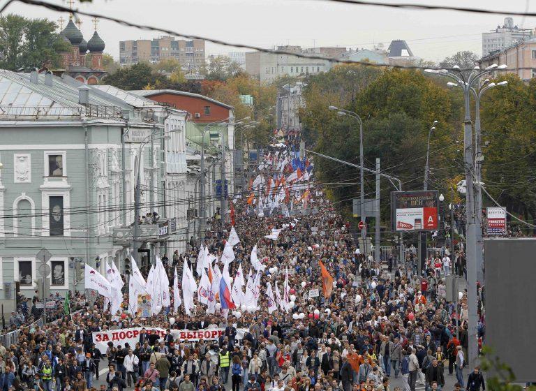 Χιλιάδες Ρώσοι διαδηλώνουν κατά του Πούτιν | Newsit.gr