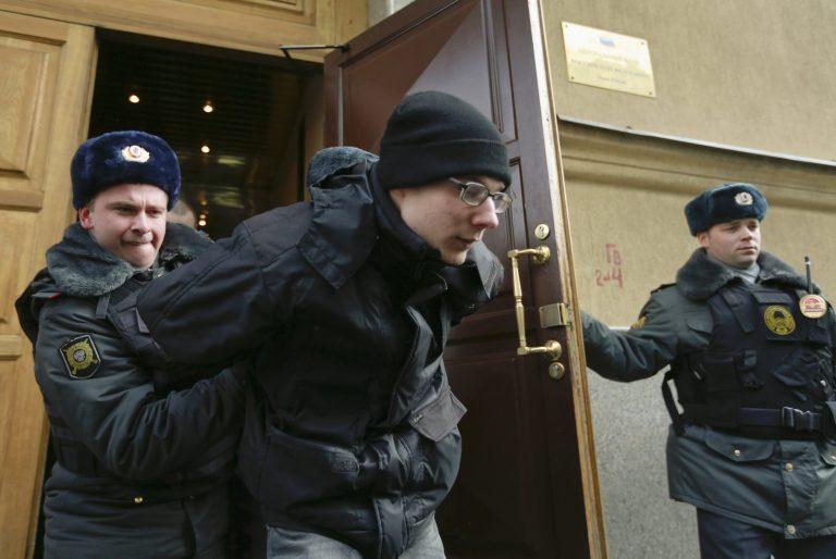 Ρώσοι διαδηλωτές κατά… Κύπρου (ΦΩΤΟ)   Newsit.gr