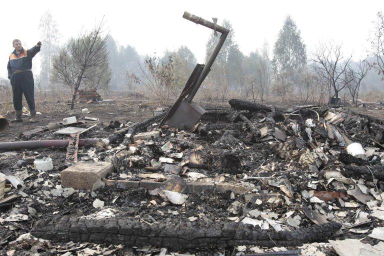 Ένας νεκρός από τις πυρκαγιές στη Ρωσία | Newsit.gr
