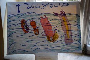 Θεσσαλονίκη: Ψάχνουν 11χρονη προσφυγοπούλα μέσα από τις ζωγραφιές της [pics]