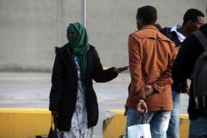 Επιχείρηση της Αστυνομίας στον καταυλισμό μεταναστών της Σάμου