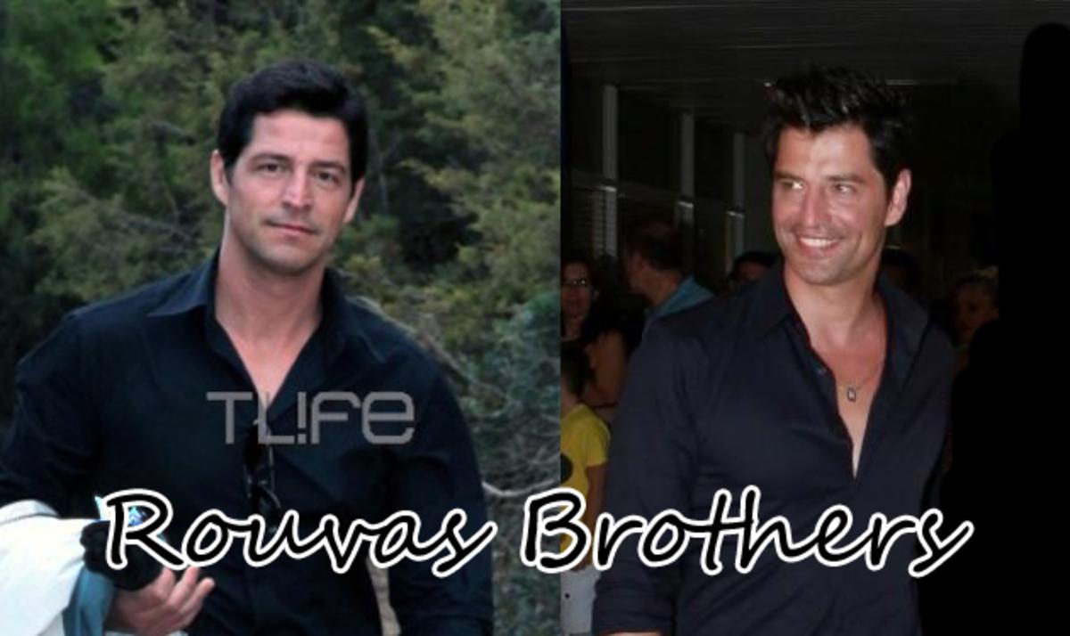Σάκης και Αποστόλης Ρουβάς: Μοιάζουν σαν δυο σταγόνες νερό! | Newsit.gr