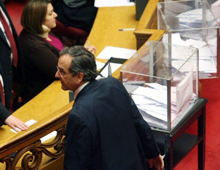 Ο Σαμαράς ψήφισε μόνο σε μια κάλπη – ΦΩΤΟ | Newsit.gr
