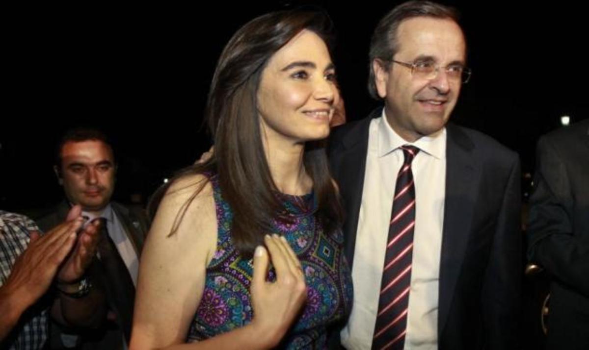 Γ. Κρητικού: Διακριτικά στο πλευρό του Αντώνη Σαμαρά μετά το εκλογικό αποτέλεσμα! | Newsit.gr