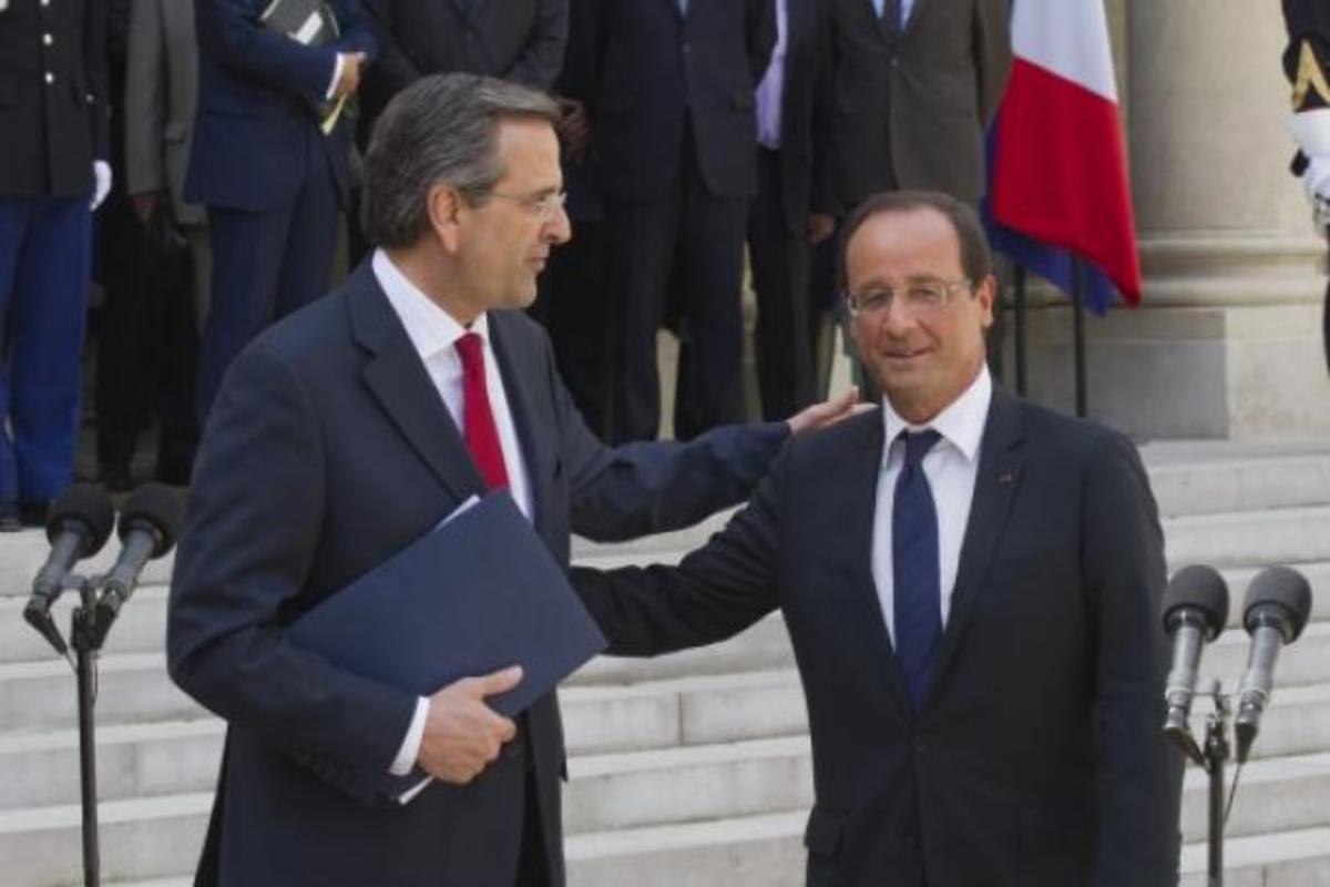 Ντροπή για την ΕΡΤ! Ολόκληρη αποστολή και δεν ακούσαμε σωστά Ολάντ και Σαμαρά! | Newsit.gr