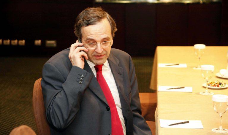 Τηλέφωνο του αμερικανού υπουργού Οικονομικών στον Α. Σαμαρά | Newsit.gr