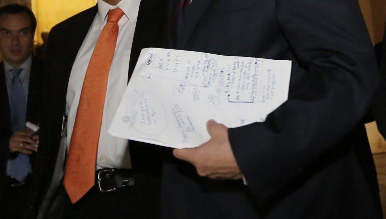 Τι έγραφε στις σημειώσεις του ο Α.Σαμαράς | Newsit.gr