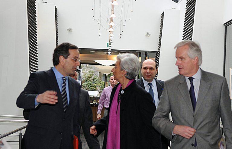 Επαφές Σαμαρά στις Βρυξέλλες για την οικονομία   Newsit.gr