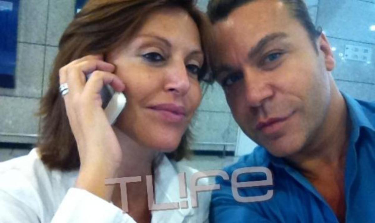 Τ. Σαμαράς – Αλ. Παλαιολόγου: Συνάντηση στο αεροδρόμιο! Από πού γύρισε η ηθοποιός με τον σύζυγό της;   Newsit.gr