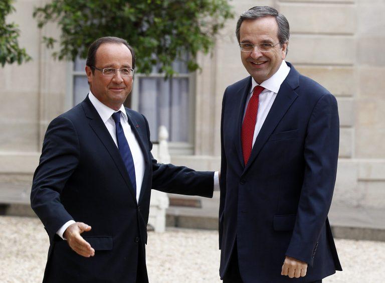 Ολάντ: Για μένα η Ελλάδα είναι και θα παραμείνει μέρος της Ευρωζώνης – Σαμαράς: Η Ελλάδα θα τα καταφέρει | Newsit.gr