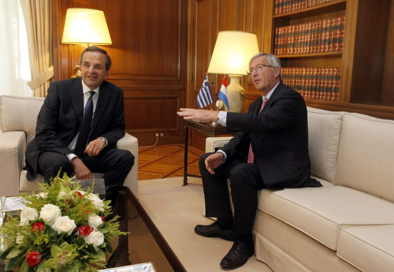 Όσα έγιναν στην συνάντηση Σαμαρά-Γιούνκερ – Το αστείο του προέδρου του Eurogrouop   Newsit.gr