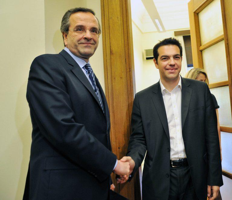 «Πόλεμος» για γκαζάκια και Βίλα Αμαλία – Σαμαράς κατά ΣΥΡΙΖΑ και Τσίπρα: Φέρονται σαν περιθωριακοί   Newsit.gr