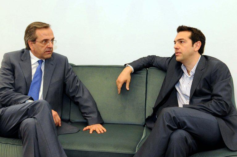 Σαμαράς εναντίον Τσίπρα για την Εθνική Άμυνα -Τι υποστηρίζουν τα δύο κόμματα που διεκδικούν εξουσία | Newsit.gr