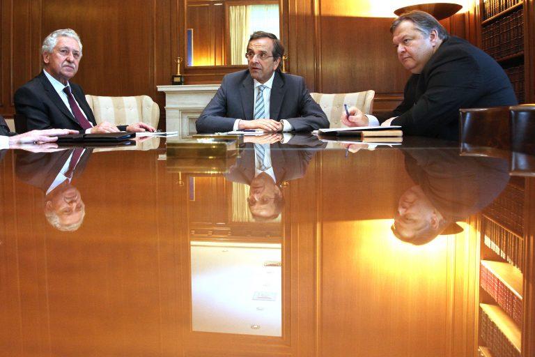 Σε εξέλιξη η έκτακτη συνάντηση Σαμαρά-Στουρνάρα – Στις 13:00 το ραντεβού των πολιτικών αρχηγών στη σκιά της κόντρας | Newsit.gr