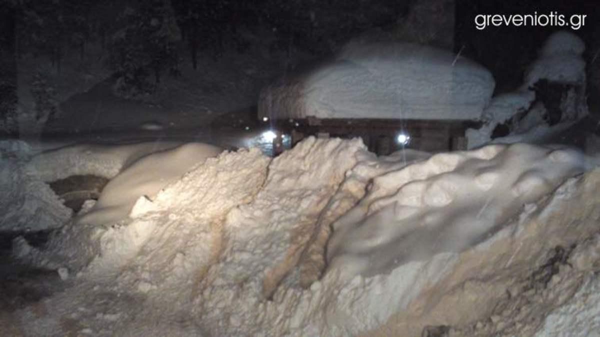 Γρεβενά: Αποκλεισμένοι σε 5 μέτρα χιόνι οι κάτοικοι της Σαμαρίνας-Βίντεο και φωτό!   Newsit.gr