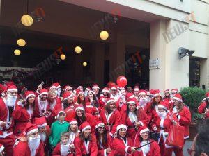 Santa Run: «Πλημμύρισε» Άγιους Βασίληδες το κέντρο! [vids, pics]