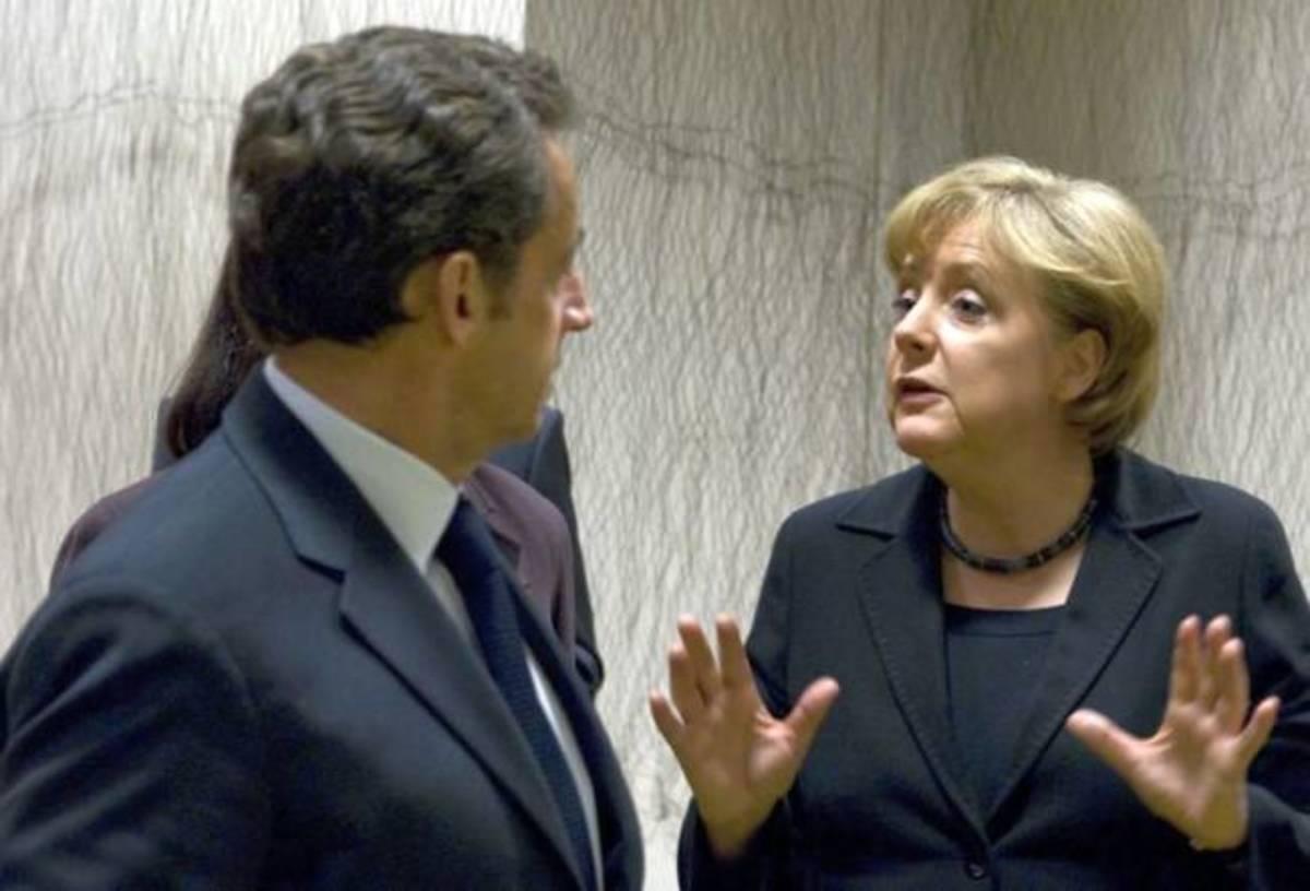 Η Μέρκελ εκνευρίστηκε με τον Σαρκοζί | Newsit.gr