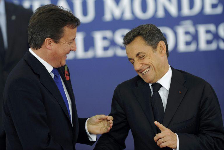 Συνάντηση στο Παρίσι για Κάμερον – Σαρκοζί   Newsit.gr