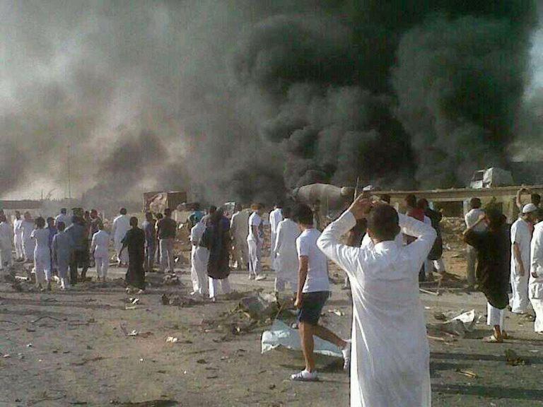 Συγκλονιστικές φωτογραφίες από την έκρηξη στη Σ.Αραβία με τους 22 νεκρούς | Newsit.gr