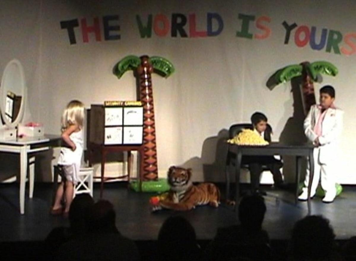 Σχολική παράσταση με…»Scarface»!   Newsit.gr