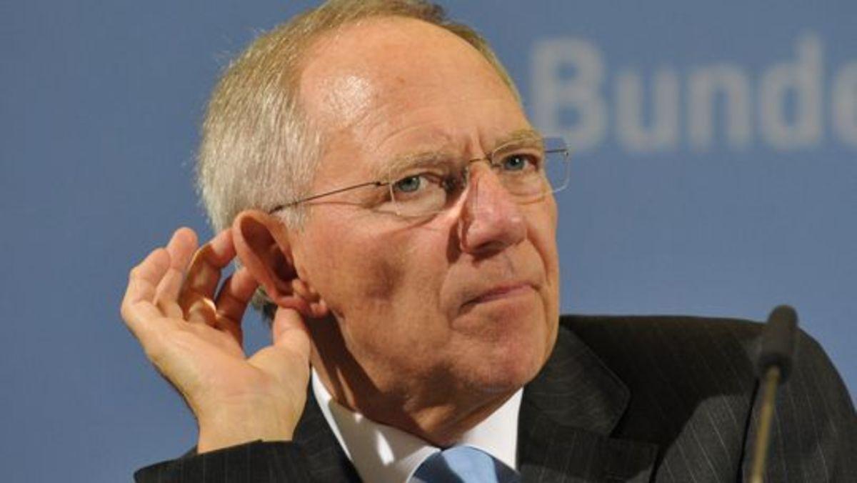 Σόιμπλε διάλεξε Eurogroup ή υπουργείο Οικονομικών! | Newsit.gr