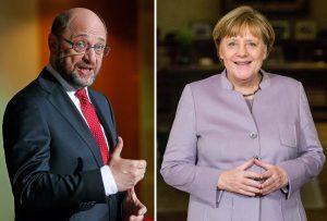 Γερμανία: «Ξεθώριασε» ο Σούλτς; Ανεβαίνει η Μέρκελ