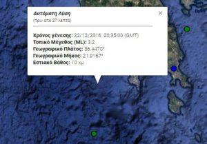 Σεισμός νότια της Καλαμάτας: Δείτε ΤΩΡΑ τι καταγράφουν LIVE οι σεισμογράφοι [εικόνες]