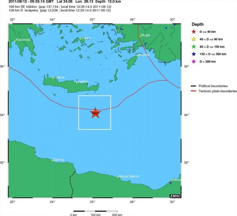 Σεισμός νότια της Ιεράπετρας | Newsit.gr
