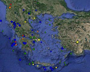 Σεισμός τώρα: Δείτε live τη σεισμική δραστηριότητα