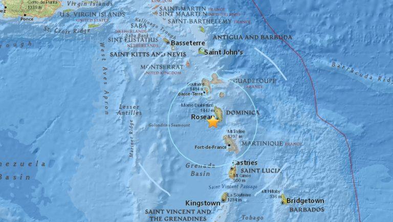 Σεισμός 5,8 Ρίχτερ στις Μικρές Αντίλλες | Newsit.gr