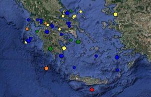 Σεισμός στην Κρήτη: Δείτε ΤΩΡΑ τι καταγράφουν LIVE οι σεισμογράφοι [εικόνες]