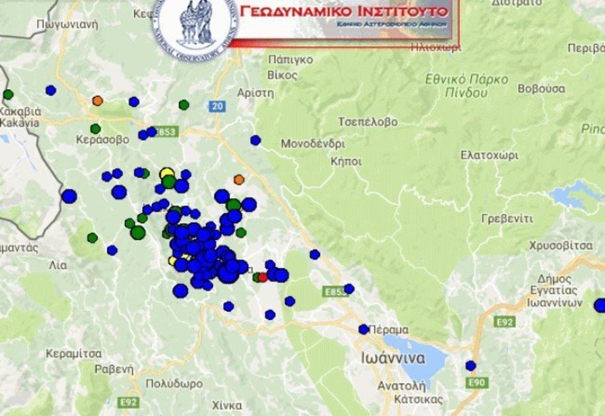 Σεισμός Γιάννενα: Νέοι μετασεισμοί – »Τρέμει η γη κάτω από τα πόδια μας» [pics]