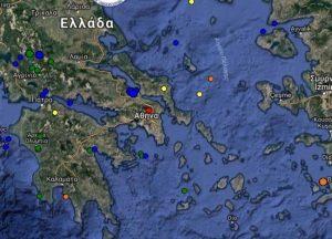 Σεισμός – Δείτε τώρα τι καταγράφουν LIVE οι σεισμογράφοι [εικόνες]