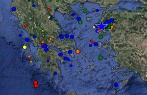 Σεισμός τώρα: Τι καταγράφουν οι σεισμογράφοι και που έγινε σήμερα [pics]