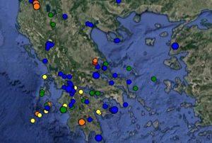 Σεισμός: Δείτε ΤΩΡΑ τι καταγράφουν LIVE οι σεισμογράφοι [εικόνες]
