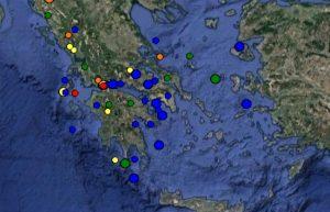 Σεισμός ΤΩΡΑ στην Πάτρα: Δείτε τι καταγράφουν LIVE οι σεισμογράφοι [εικόνες]