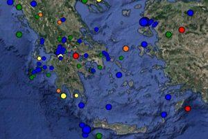 Σεισμός στη Ρόδο: Δείτε ΤΩΡΑ τι καταγράφουν LIVE οι σεισμογράφοι [εικόνες]