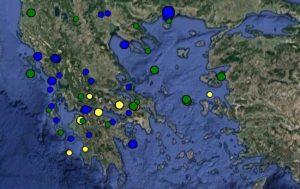 Σεισμός: Δείτε τώρα τι καταγράφουν LIVE οι σεισμογράφοι [εικόνες]