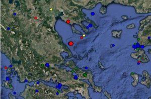 Σεισμός τώρα στο Βόλο – Τι δείχνουν οι σεισμογράφοι [pic]