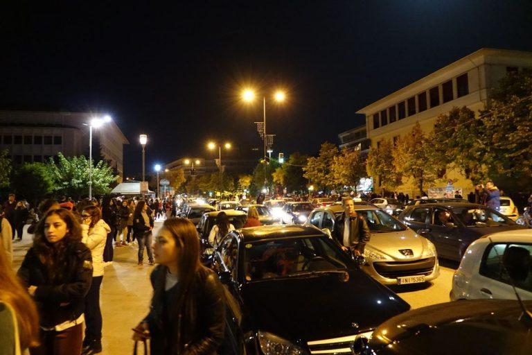 Σεισμός στα Ιωάννινα: Μια πόλη στους δρόμους! [vid,pics]