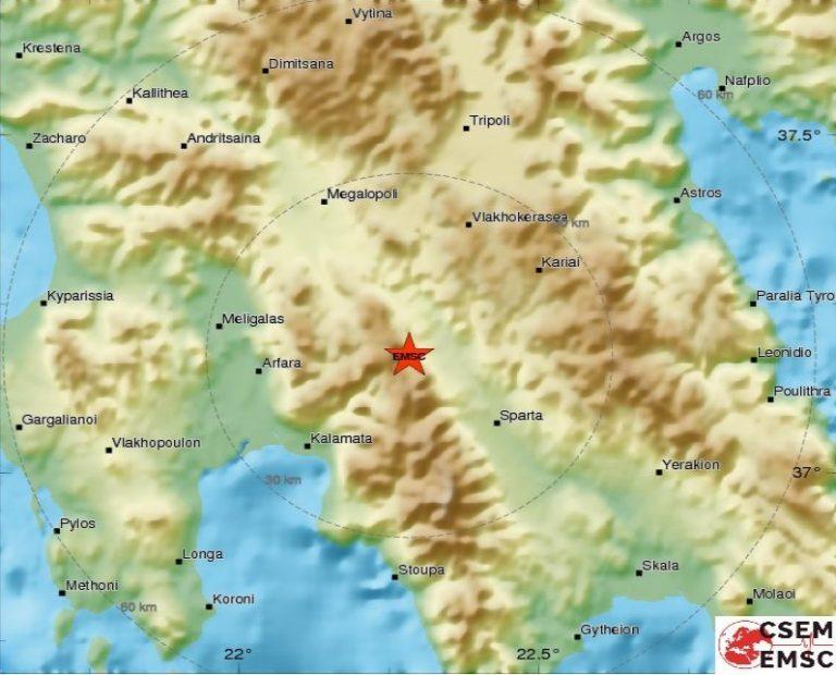 Σεισμός 4 Ρίχτερ κοντά στην Καλαμάτα!   Newsit.gr