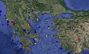 Σεισμός 3,5 Ρίχτερ στη Λάρισα